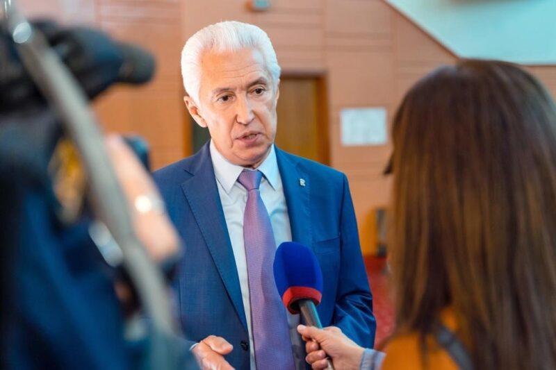 Владимир Васильев поблагодарил жителей Тверской области за поддержку