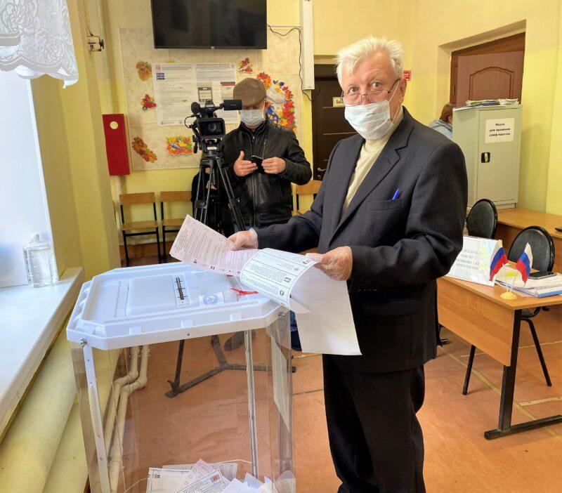 Валерий Румянцев: Проголосовал за лучшую судьбу родного Ржевского района