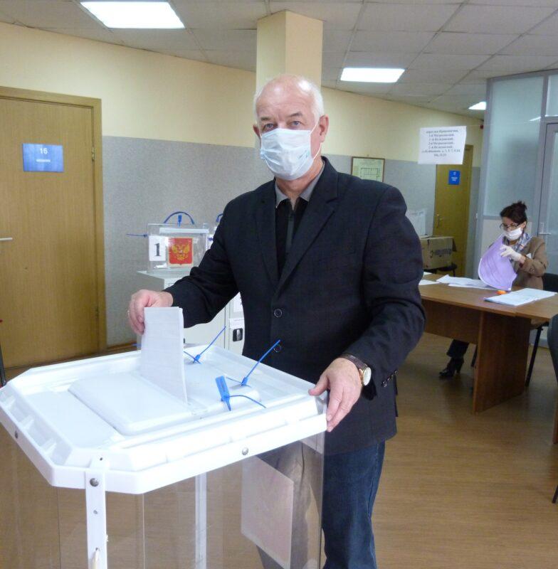 Александр Крючков: Нельзя оставаться в стороне от самого главного политического события
