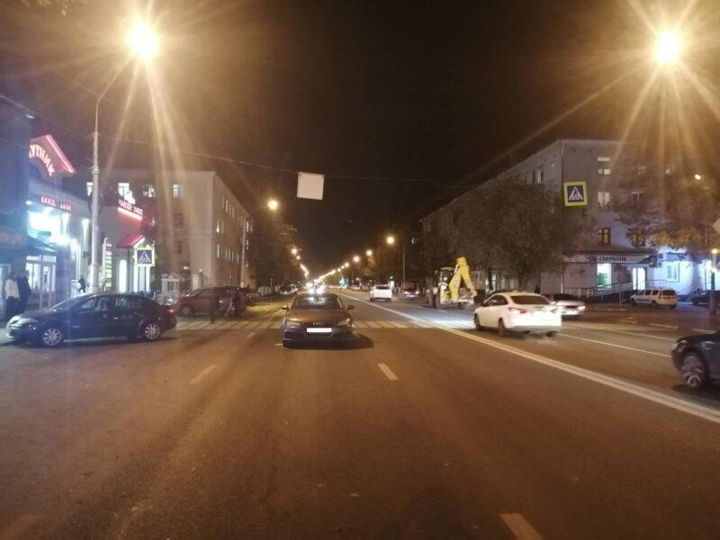 Водитель иномарки сбил пешехода в Твери