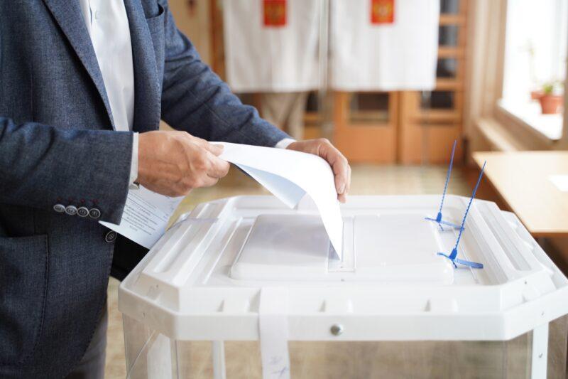 Жители Тверской области активно голосуют на выборах