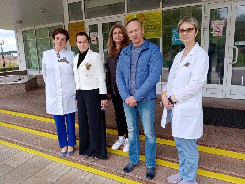 Врачи Центра Бакулева из Москвы провели обследование пациентов Перинатального центра в Твери