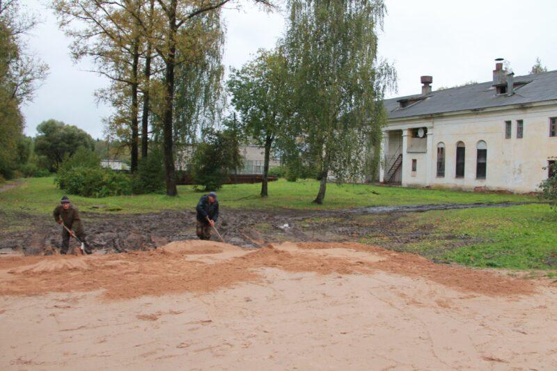 В Нелидовском ДОКе появится новая спортивная площадка