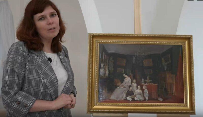 """Тверская картинная галерея знакомит с экспонатами выставки """"У истоков"""" в видео-формате"""