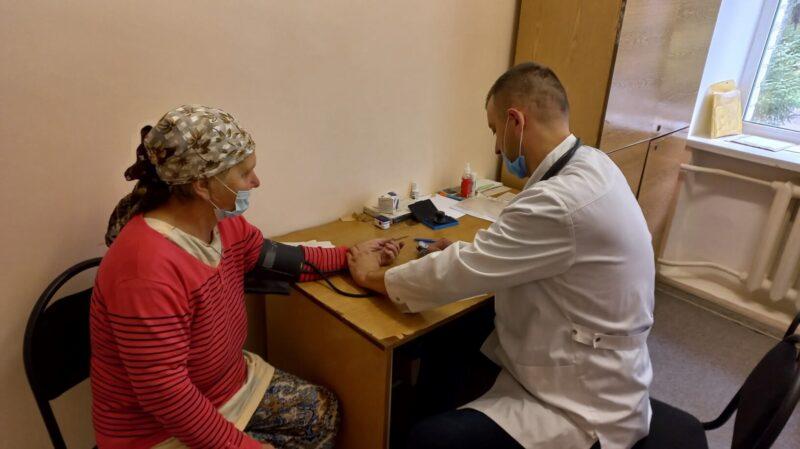 В медицинских учреждениях Максатихи прошла углубленная диспансеризация жителей после ковида