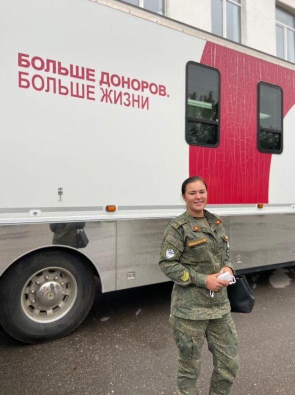 В Торжке прошла масштабная донорская акция, организованная медиками и Юлией Сарановой