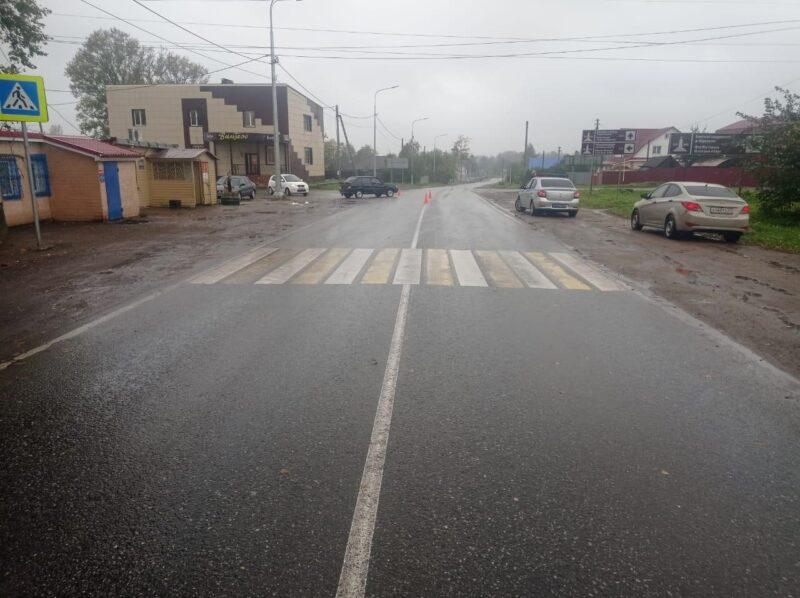 В Тверской области на пешеходном переходе сбили двух несовершеннолетних