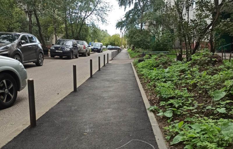 В Твери отремонтировали тротуар после обращения жителей к губернатору Тверской области
