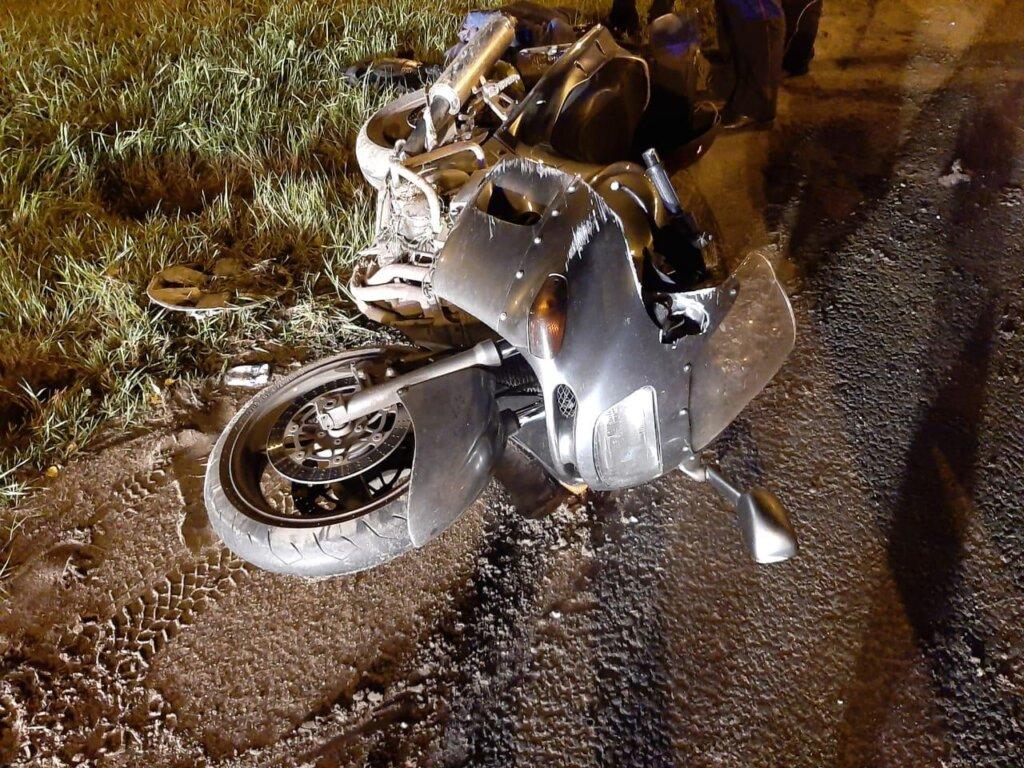В Тверской области мотоциклист попал в аварию из-за нетрезвого водителя авто