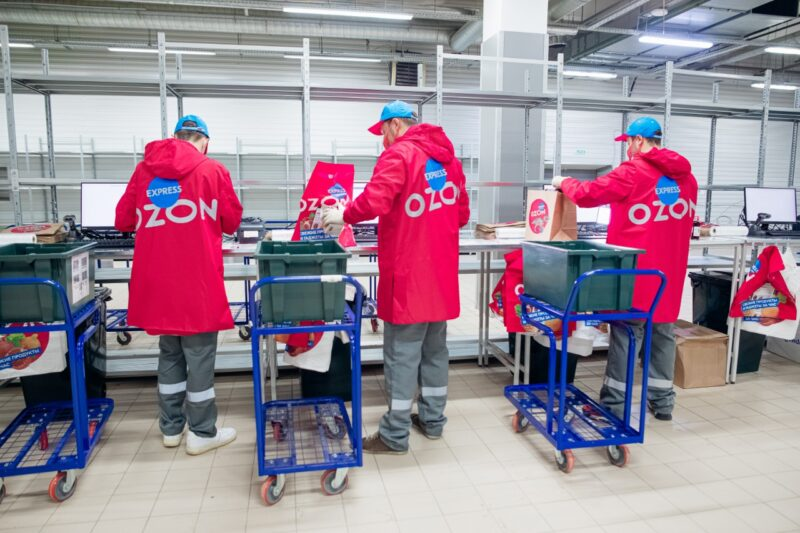 Сервис быстрой доставки Ozon Express открыли в Твери