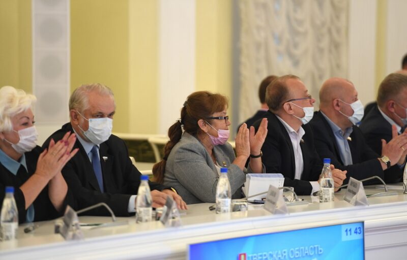 Игорь Руденя провел встречу с депутатами ЗакСобрания Тверской области шестого созыва, завершающего свою работу