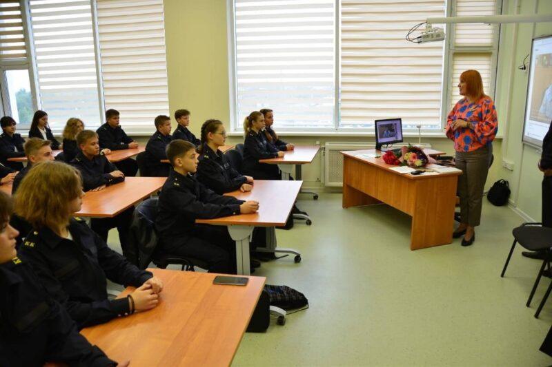 Первый кадетский класс ФСБ России открыли в Твери