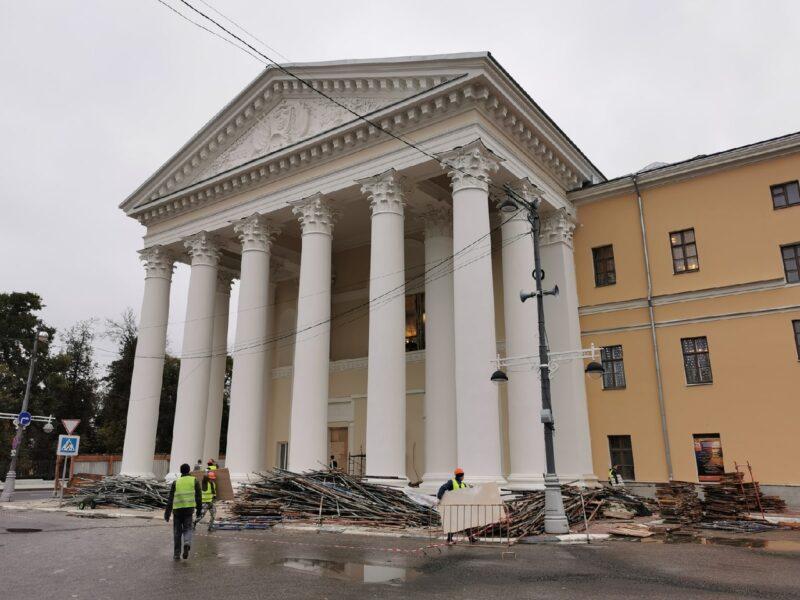 Тверской театр драмы предстал в новом цвете после реставрации