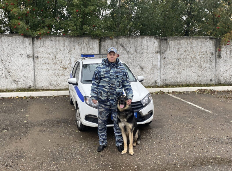"""""""Хан"""" помог раскрыть преступление в Тверской области"""