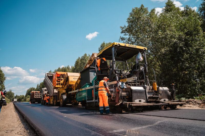 В Тверской области начался ремонт дороги Ржев-Сухуша