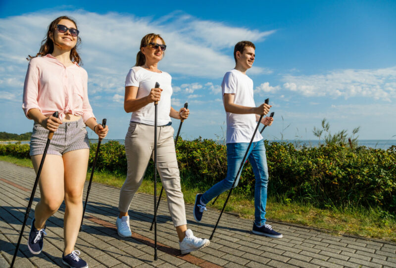 Жителей Твери научат правильно ходить по-скандинавски