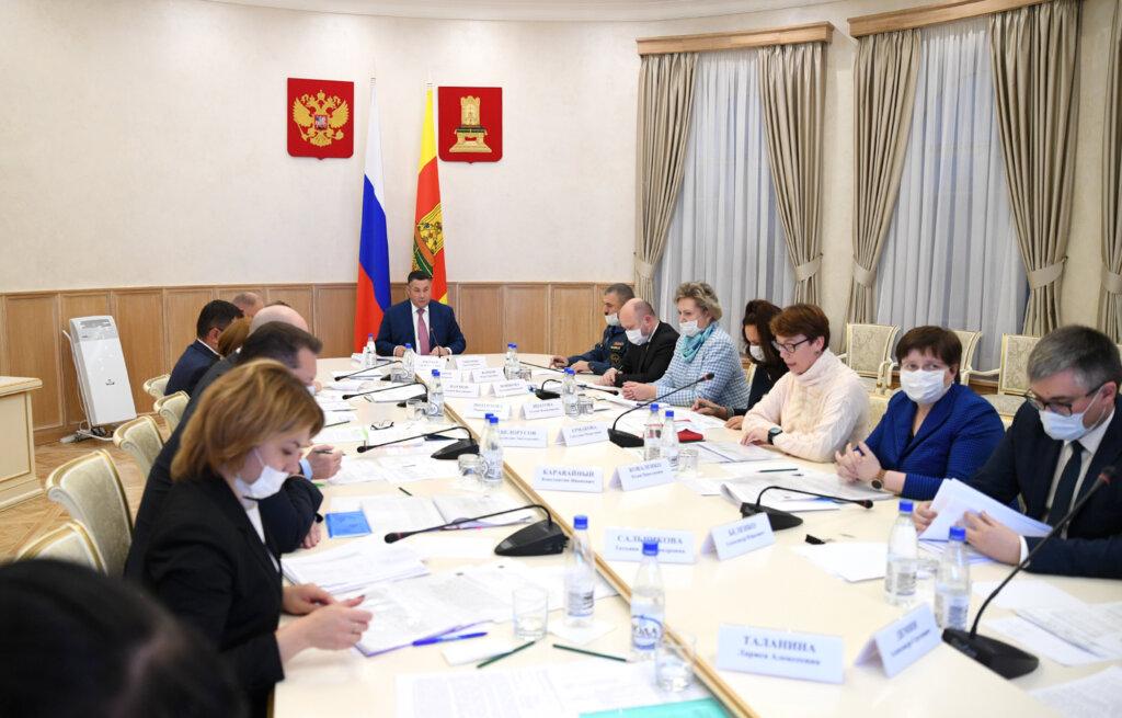 Детей из семей с невысоким уровнем дохода обеспечивают бесплатным питанием в школах Тверской области