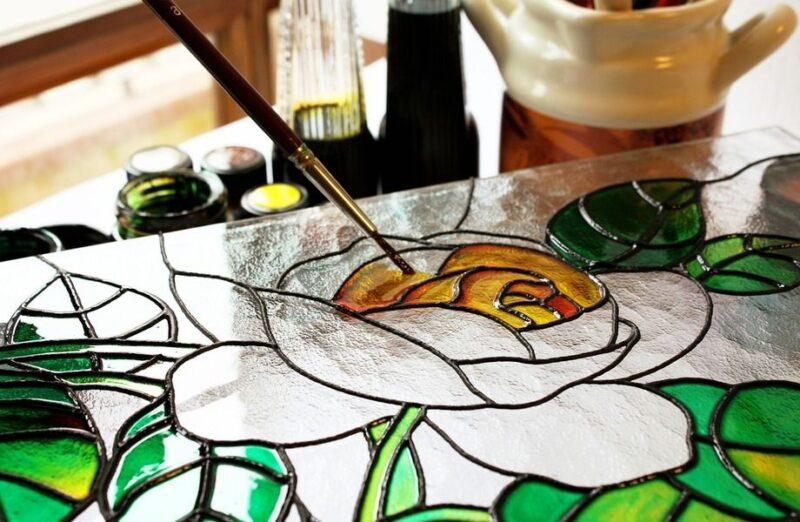 В Твери пройдет занятие по росписи стекла