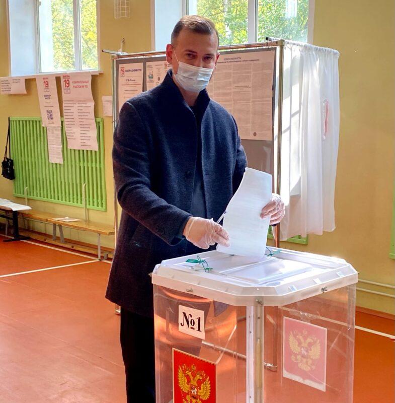 Андрей Константинов: Голосую за стабильность