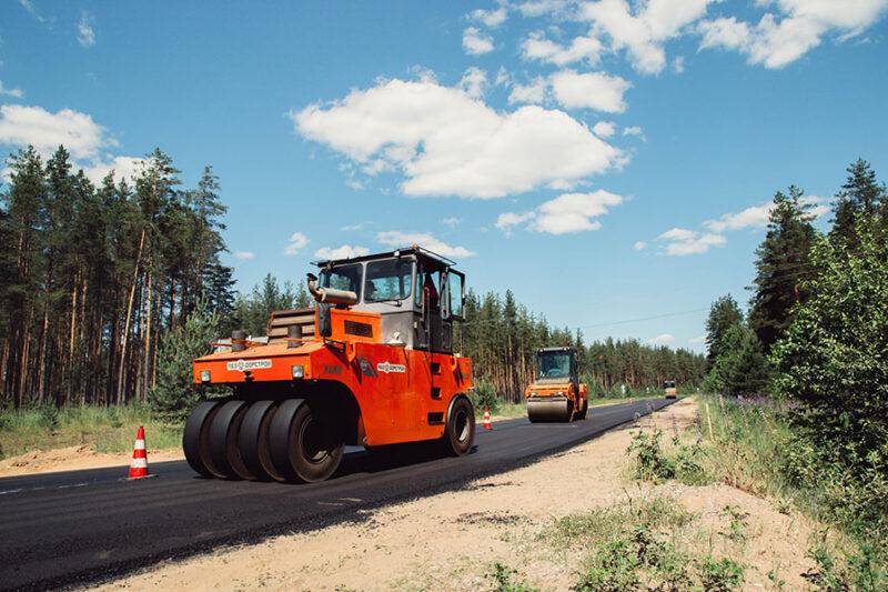В Тверской области на дороге Бежецк – Поречье выполнен ремонт