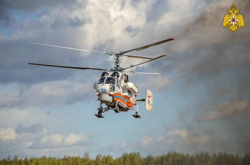 Вертолет МЧС совершил санитарный вылет в Бологовскую ЦРБ