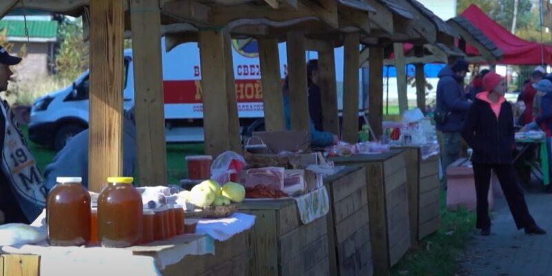 Жители и гости Нелидово радовались солнцу на сельскохозяйственной ярмарке