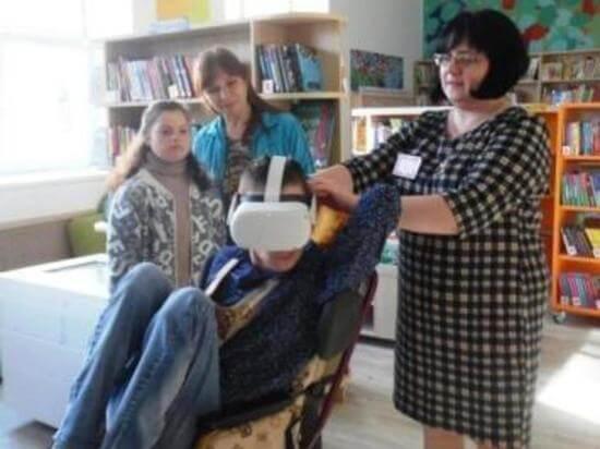 В Андреаполе детей из клуба «Островок доброты» сводили в библиотеку