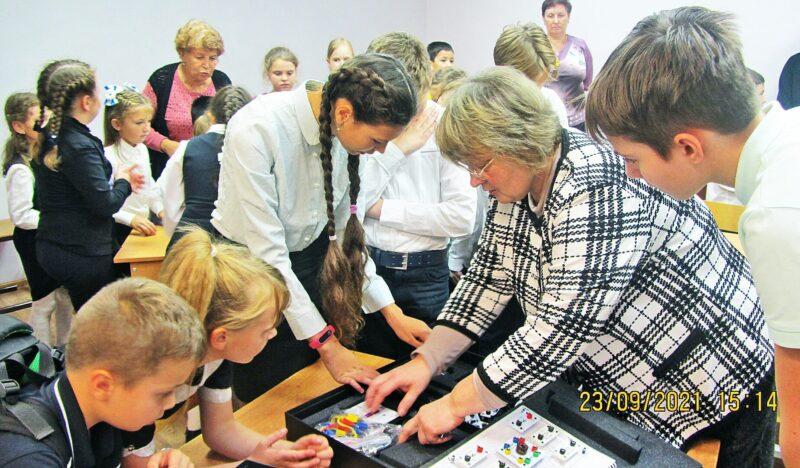 В гимназии №5 города Конаково открыли центр «Точка роста»