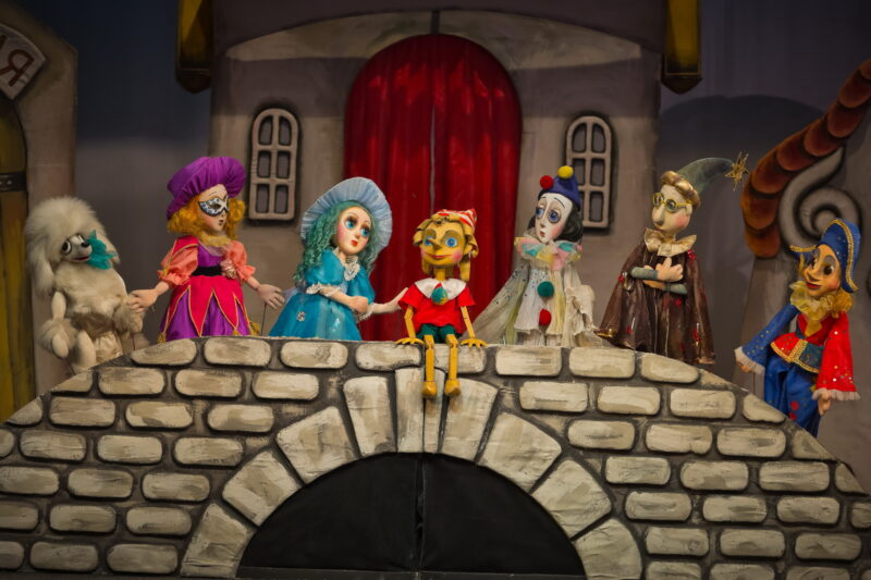 Тверской театр кукол приглашает отправиться навстречу приключениям вместе с Буратино