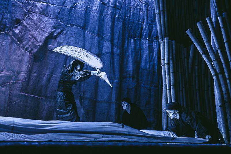 В Тверском театре кукол покажут японскую сказку о журавлиных перьях