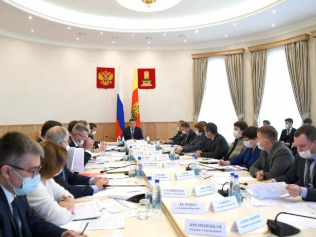 Глава региона Игорь Руденя провел совещание по вопросам деятельности Правительства Тверской области