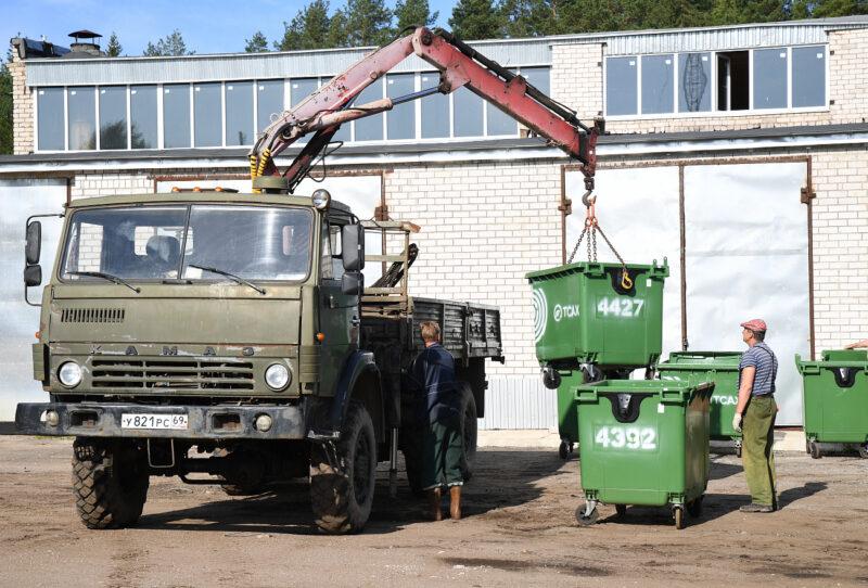 Тверская область получит 66,3 миллиона рублей на закупку контейнеров для раздельного сбора отходов