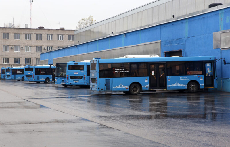 В Тверской области все автобусы общественного транспорта проходят регулярную дезинфекцию