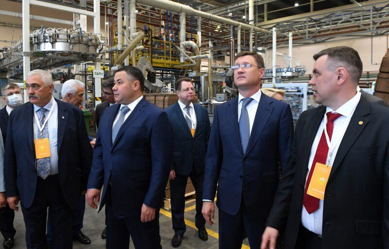 В Тверской области на строительной площадке ООО «Шелл Нефть» началась установка свай