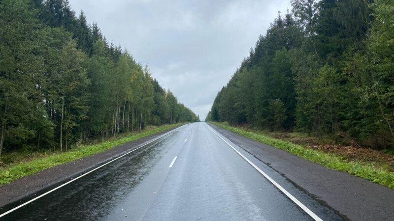 В Тверской области завершается ремонт автодороги Рамешки-Максатиха