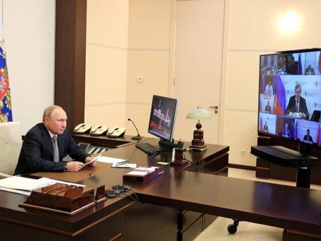 Игорь Руденя принял участие в заседании Президиума Госсовета РФ по транспортной стратегии Российской Федерации