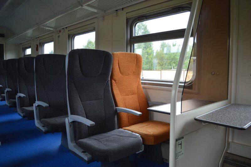 Новые вагоны будут курсировать в составе ретропоезда «Селигер»