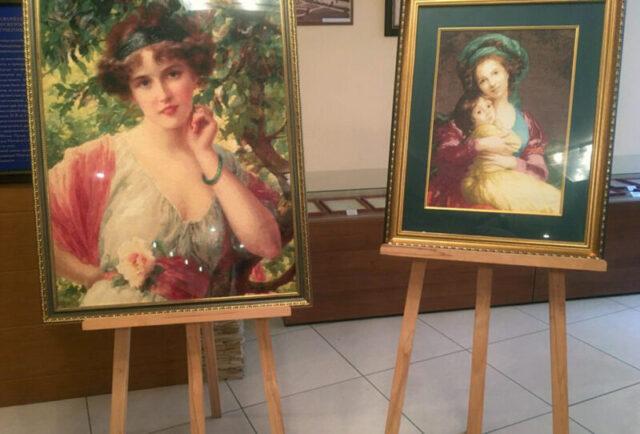 В Тверской прокуратуре открылась выставка работ ветеранов и работников ведомства