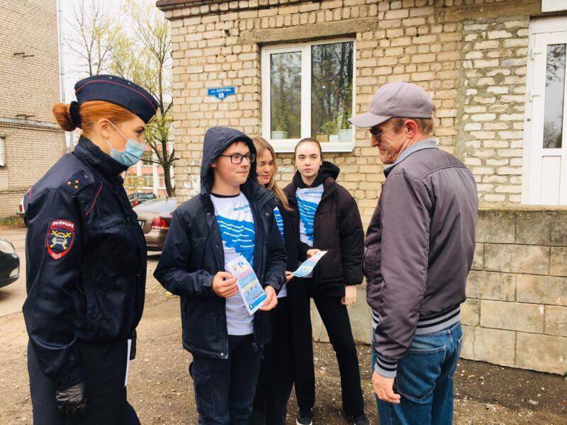 В Тверской области дети рассказали пешеходам, как правильно переходить дорогу