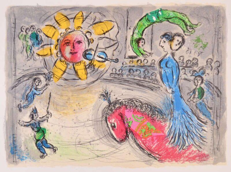 В Твери покажут подлинники Марка Шагала