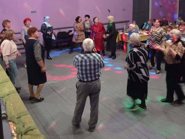 В Западной Двине прошло еще одно мероприятие в честь Дня пожилых людей