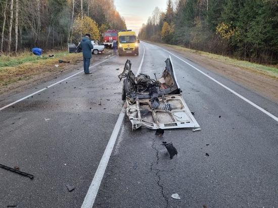 В Тверской области в аварии погиб молодой водитель, который выехал на встречную полосу
