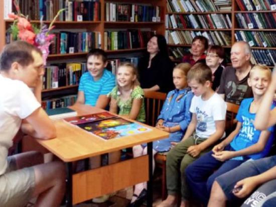 В Андреапольском округе дети встретились с автором комиксов