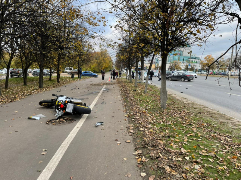 В Твери завели уголовное дело из-за гибели в аварии водителя мотоцикла