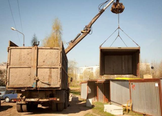 В Тверской области украли гараж