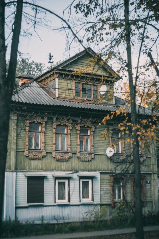 Тверской фотограф поделилась осенним взглядом на улицы города