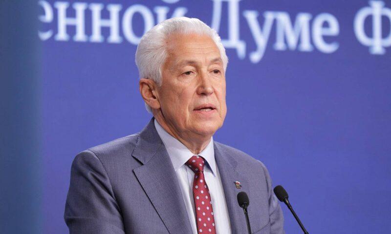 Владимир Васильев: Главная цель фракции «Единой России» в Госдуме — исполнение народной программы