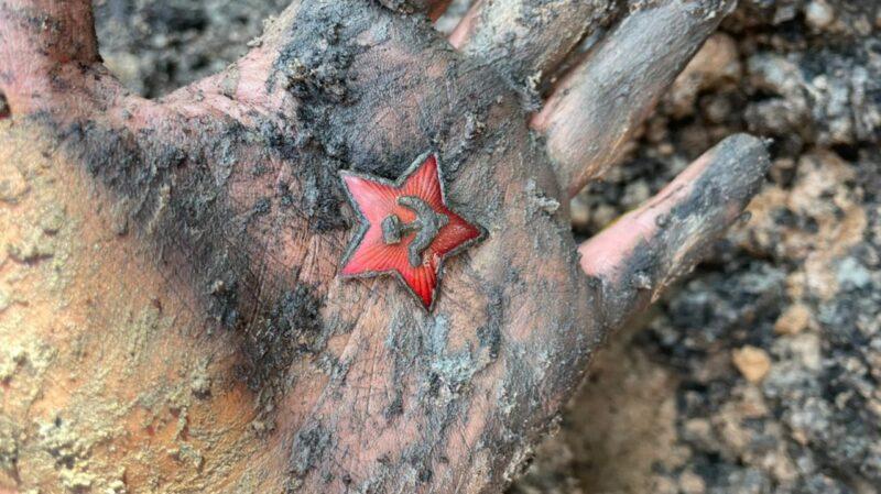 В Тверской области обнаружили останки бойцов Красной армии